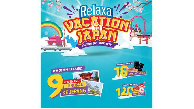 Relaxa Vacation to Japan.