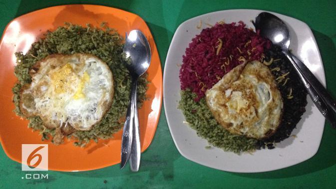 Nasi Goreng Warna-warni Thole Kitchen (Liputan6.com/Putu Elmira)