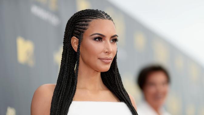 Kim Kardashian (Christopher Polk / AFP)