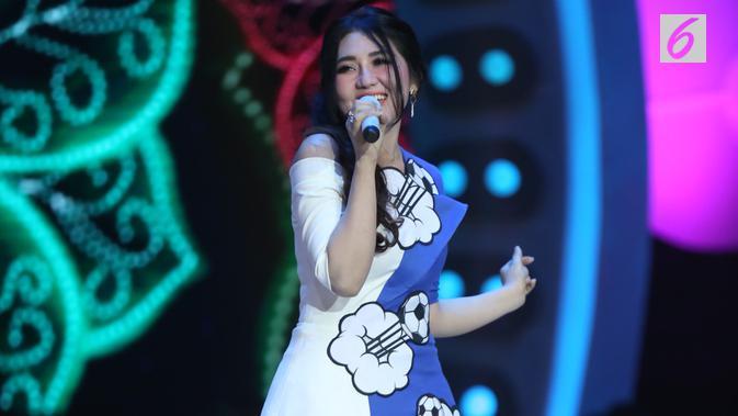Via Vallen (Foto: Nurwahyunan/Bintang.com)
