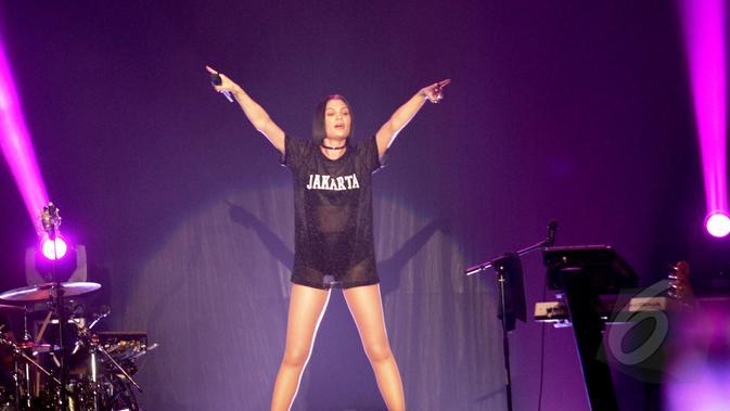 Jessie J (Liputan6.com/Faizal Fanani)