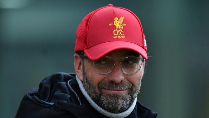Manajer Liverpool, Jurgen Klopp harus mengatur kebugaran fisik para pemainnya untuk laga melawan MU akhir pekan nanti (AFP/Anthony Devlin)