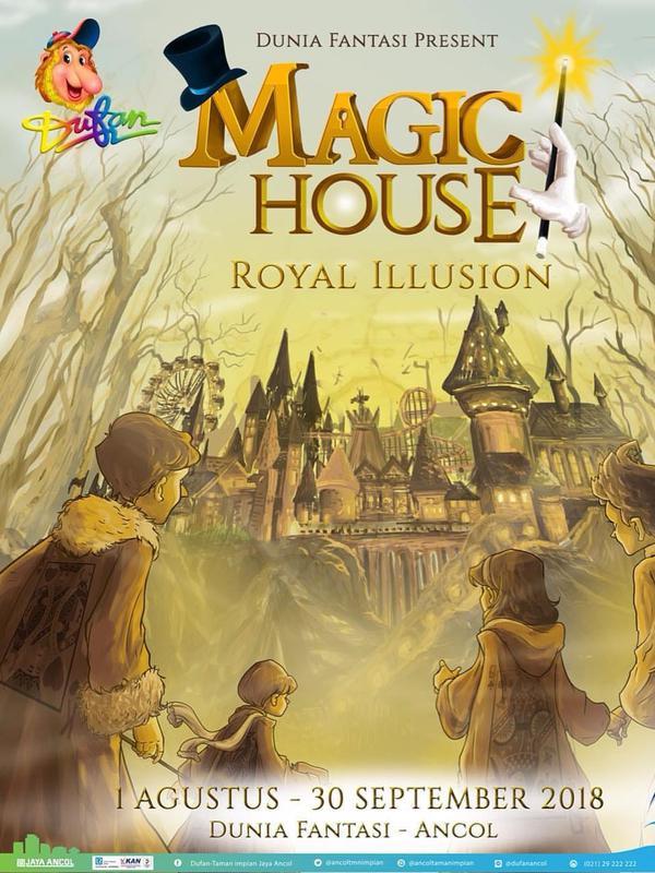 Dufan memiliki atraksi terbaru Magic House
