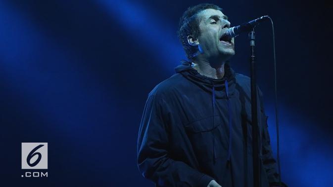 Liam Gallagher (Bambang E. Ros/Bintang.com)