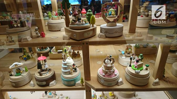 Museum Kotak Musik Otaru, Jepang. (Liputan6.com/Dinny Mutiah)