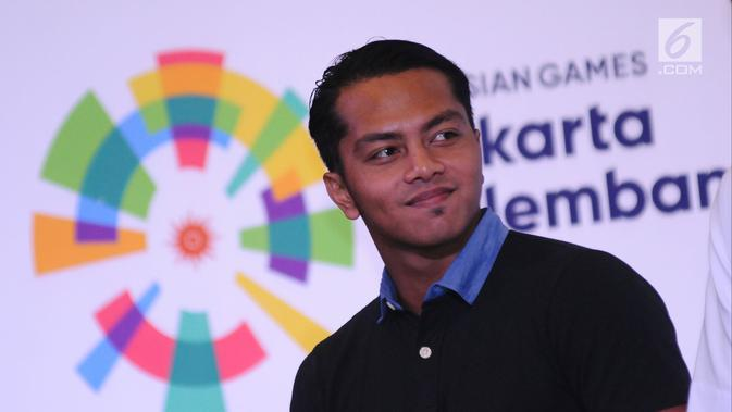Atlet renang Indonesia I Gede Siman Sudartawa. (Liputan6.com/Helmi Fithriansyah)