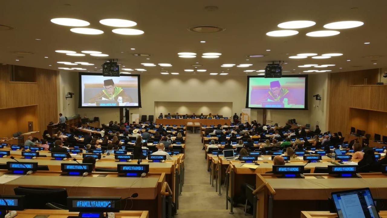 Suasana di Forum Dekade PBB untuk Pertanian Keluarga