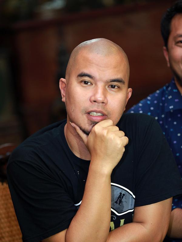 Foto preskon Ahmad Dhani Tentang Sidang Pra Peradilan Farhat Abbas Yang Ditolak PN Jakarta Selatan (Wimbarsana/Doc: Bintang.com)