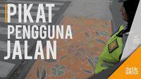 Kota Ini Punya Mural Batik di Zebra Cross, Bukan untuk Selfie Ya