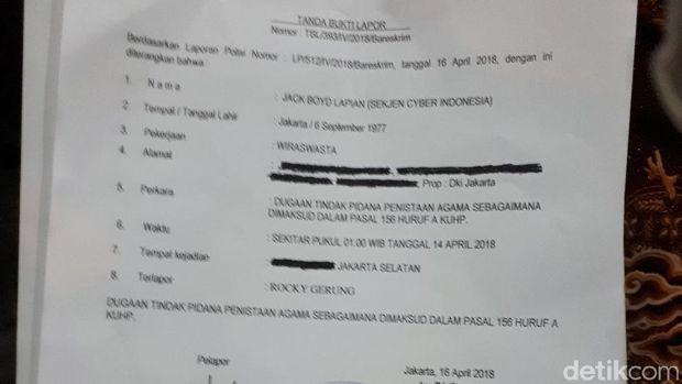 Rocky Gerung Dipolisikan dengan Tuduhan Penistaan Agama