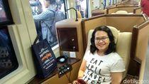 Kesan Pemudik Naik Kereta Sleeper: Mewah dan Nyaman