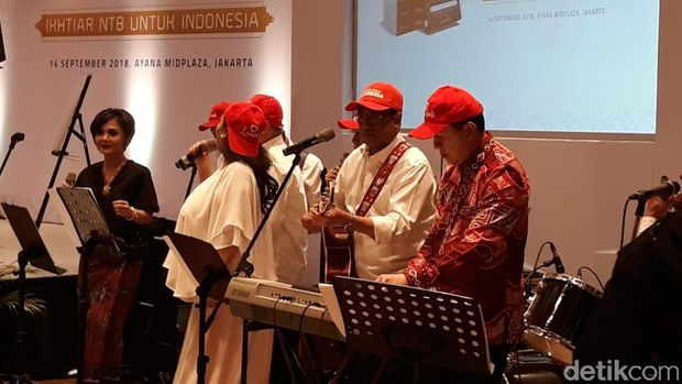 Hasil 'Ngamen' Elek Yo Band Rp 851 Juta Disumbangkan ke Gempa Lombok