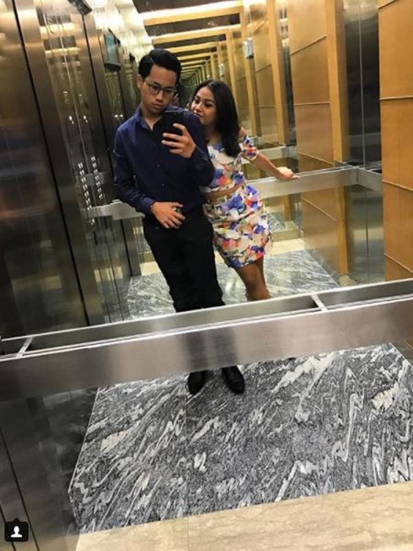 Kakak perempuan Bani sedang menjadi sorotan publik, dikarenakan unggahan foto yang dibagikan oleh Bani di Insatgram pribadinya. (Instagram/@rabbanizaki)