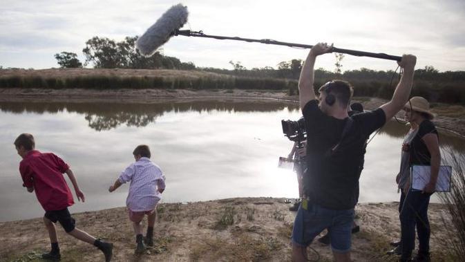 Ilustrasi pengambilan gambar film pendek. (Istimewa/ABC)