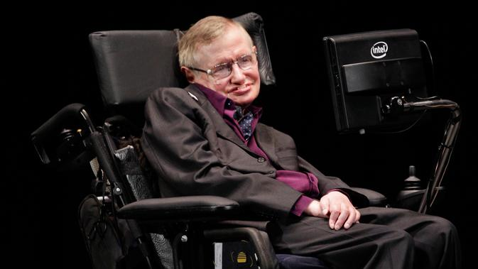 Stephen Hawking (AP Photo/Ted S. Warren)