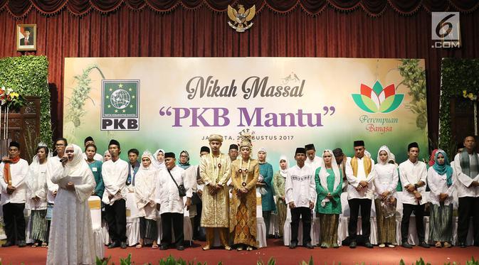 PKB Mantu Momen Nikahkan Masyarakat Tak Mampu.