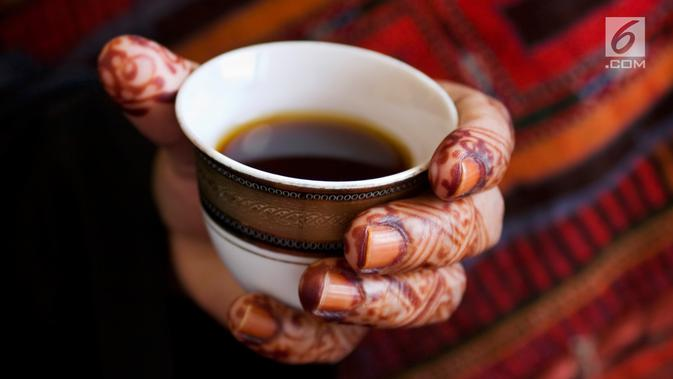 Ilustrasi Kopi Arab (iStockphoto)