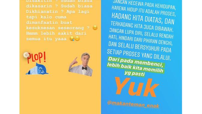 Curhatan Aurel Hermansyah dan Rabbani Zaki [foto: instagram]