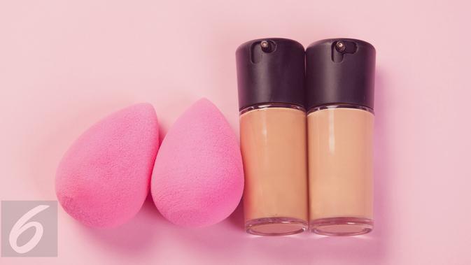 Ilustrasi spons makeup (iStockphoto)