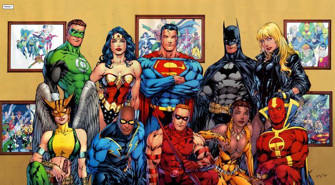 Komik superhero Justice League. (DC Comics / ifanboy.com)