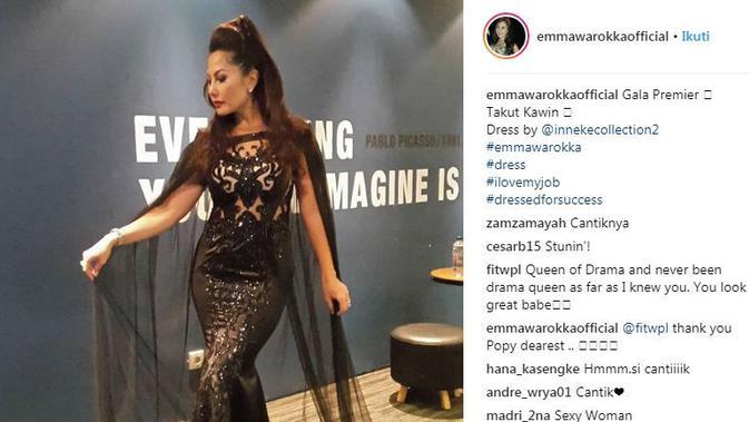 Emma Waroka (Instagram @emmawarokkaofficial)
