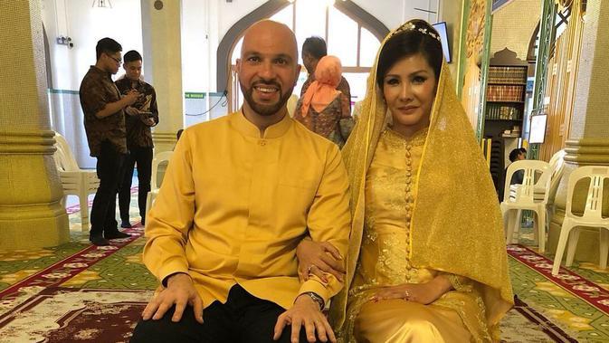 Pernikahan Sajad Ukra dengan Medina (Foto: Liputan6.com/istimewa)