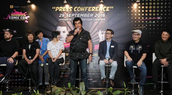 Banyak selebritas dunia yang menghadiri Indonesia Comic Con.