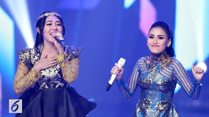 Zaskia Gotik mengungkap perbedaan Ayu Ting Ting dan Via Vallen menurut kacamatanya. (Bambang E Ros/Bintang.com)
