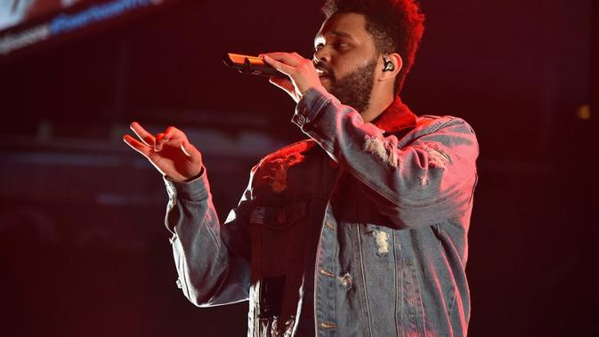 The Weeknd. (THEO WARGO/GETTY IMAGES NORTH AMERICA/AFP)