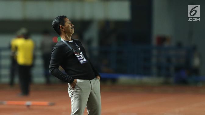 Pelatih PSMS Medan,, Djajang Nurdjaman. (Liputan6.com/Helmi Fithriansyah)