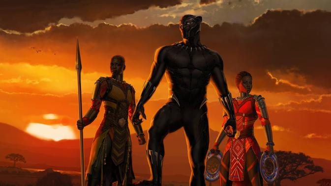 Black Panther. (Marvel Studios)