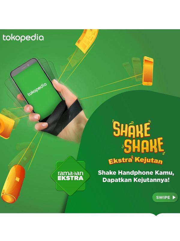 Shake Shake Ekstra Kejutan.