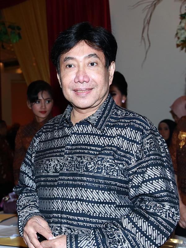 Guruh Soekarno Putra merayakan ulang tahunnya yang ke-65 tahun. (Deki Prayoga/Bintang.com)