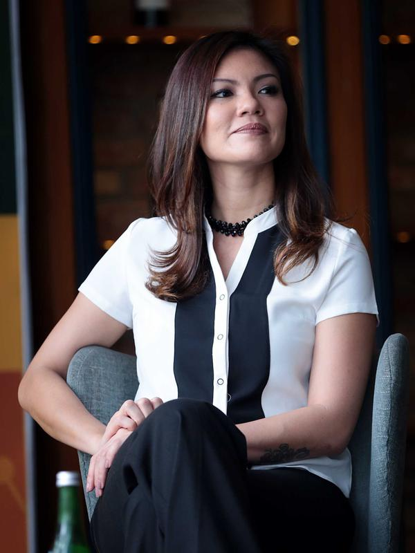 Aline Adita. (Deki Prayoga/Bintang.com)