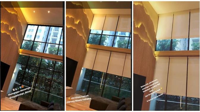 Sandra Dewi dan Harvey Moeis menyiapkan rumah empat lantai untuk bayinya yang berinisial RM (Instagram/@sandradewi88)