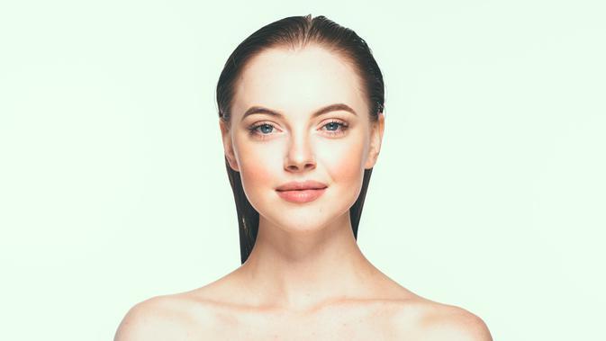 Ilustrasi wajah wanita (iStockphoto)