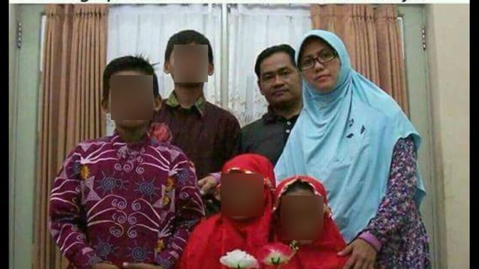 Keluarga Pengebom Bunuh Diri 3 Gereja di Surabaya