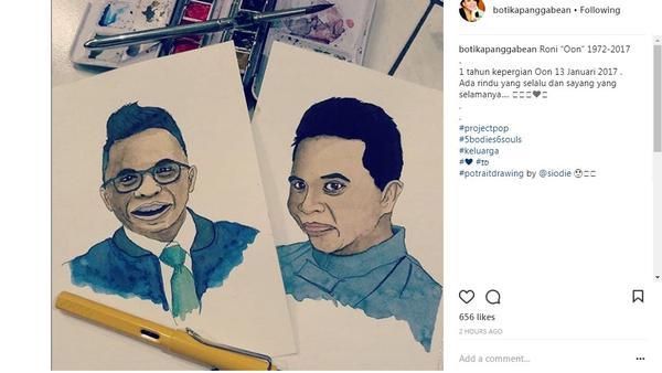 Tika Panggabean rindu sosok Oon Project Pop (Foto: Instagram)