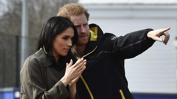 Pangeran Harry dan Meghan Markle. (Foto: AFP)