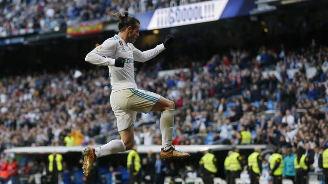 Penyerang Real Madrid, Gareth Bale (AP Photo/Francisco Seco)