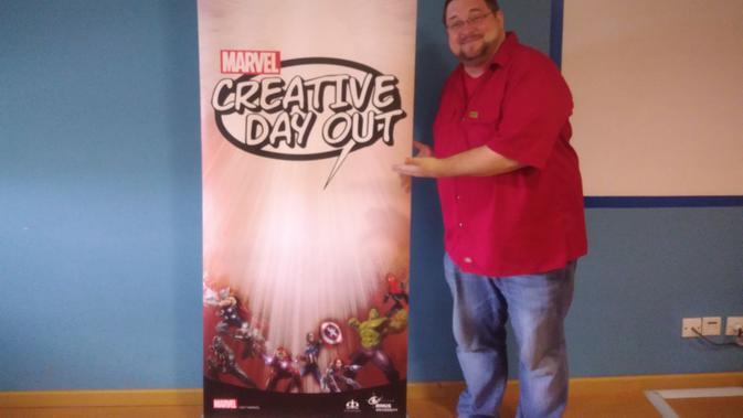 C.B Cebulski, Chief Editor Marvel Comics (Liputan6.com/ Ratnaning Asih)