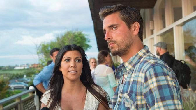 Scott Disick dan Kourtney Kardashian. (SCOTT ROTH-SCOTT ROTH-INVISION-AP)