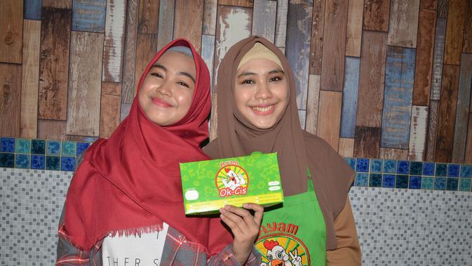 Oki Setiana Dewi dan Ria Ricis (Liputan6.com/ Sapto Purnomo)