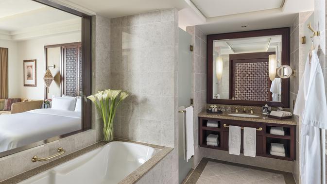 Shangri-La Al Husn Resort & Spa, Muscat kembali dihadirkan dengan gaya yang berbeda (Liputan6/pool/Shangri-La)