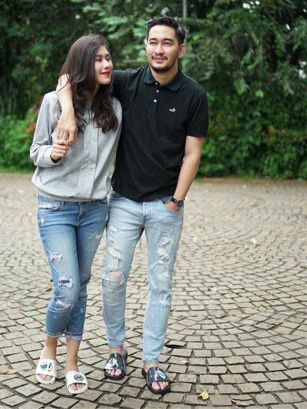 Syahnaz Sadiqah dan Jeje Govinda (Instagram/syahnazs)