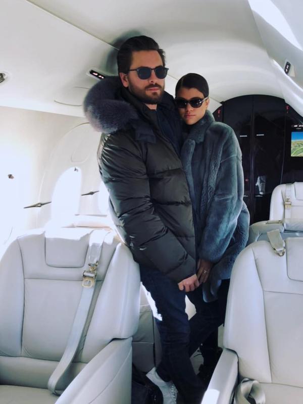 Meski jika benar Scott akan melakukan hal itu, ayah Sofia Richie seperti sudah meramalkan sejak awal. (instagram/letthelordbewithyou)