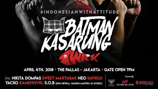 Poster konser Batman Kasarung