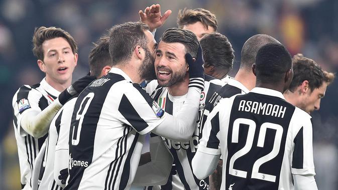 10. Juventus - Pendapatan 405,7 juta euro(Rp6,6 triliun). (AP/Alessandro di Marco)