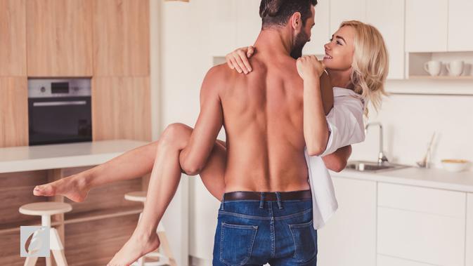 Ilustrasi hubungan seks di dapur (iStockphoto)