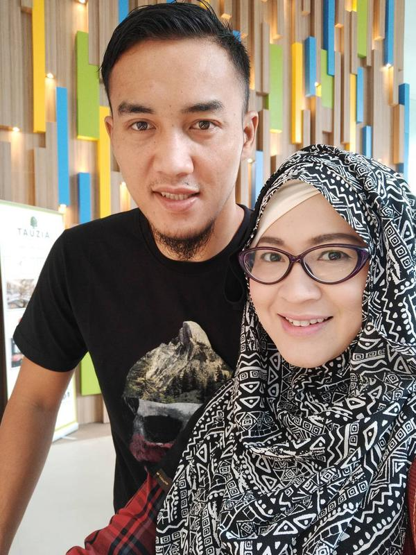 Okie Agustina dan Gunawan Dwi Cahyo [foto: instagram]